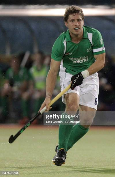 Ireland captain Ronan Gormley during the FIH Olympic Games Qualifying Tournament at the Belfield Dublin PRESS ASSOCIATION Photo Picture date Thursday...