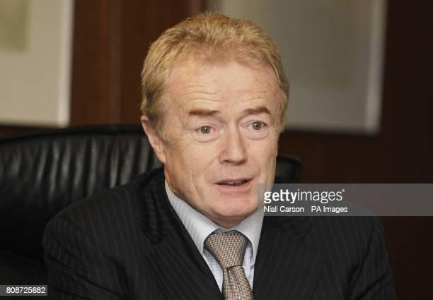 IDA Ireland chairman Liam O'Mahony briefs the media at IDA headquarters Dublin as multinational companies created almost 11000 jobs last year