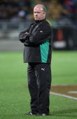 Ireland coach Declan Kidney before the International rugby test match between the New Zealand All Blacks and Ireland at Yarrow Stadium on June 12...