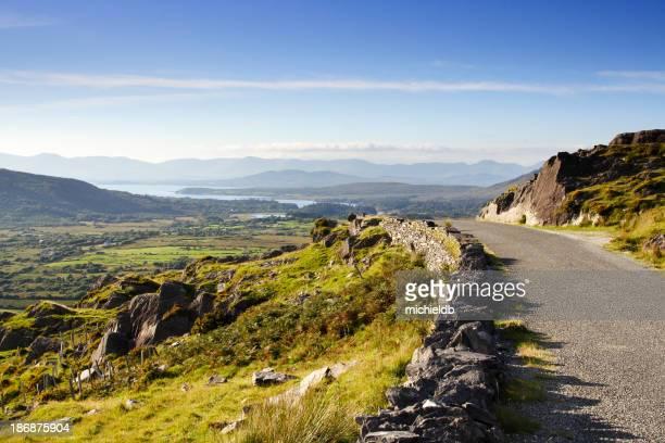 Route de campagne d'Irlande