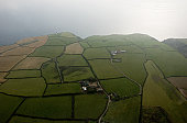 Ireland, County Cork, aerial view