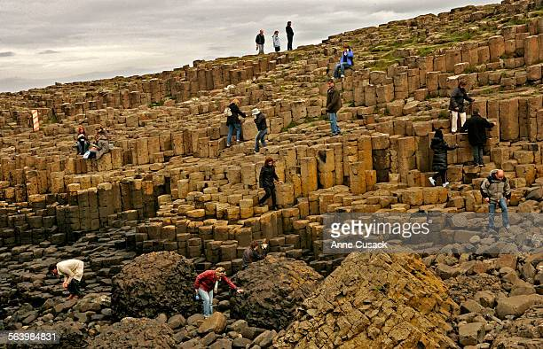 Ireland Giants Causeway is sometimes called the Eighth wonder of the world It was formed some 62–65 million years ago The hexagonal columns were...