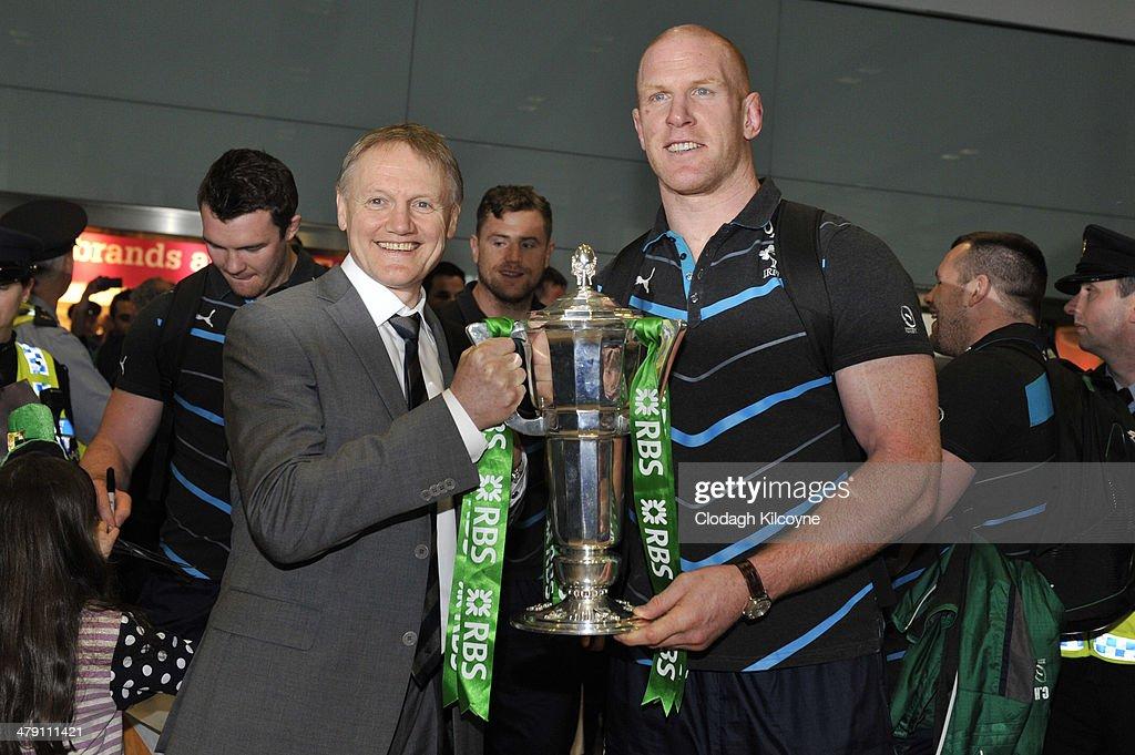 Six Nations Championship Winners Arrive In Dublin