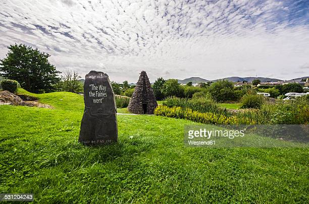 Ireland, Ring of Kerry, Sneem, St. Michaels Church