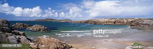 Ireland, Ulster, County Donegal, Cruit Island coastline