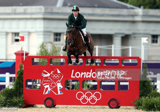 Ireland's Cian O'Connor on Blue Loyd 12 during the Individual Jumping Final B at Greenwich Park on the twelfth day of the London 2012 Olympics