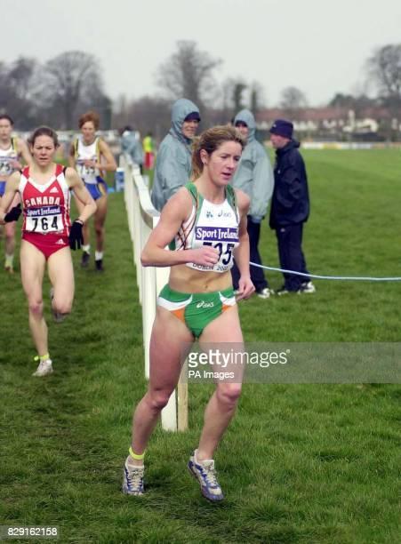 Ireland's Geraldine Hendricken competes in the Women's Senior Long Race in the IAAF World Cross Championship in Dublin * Irish 1500m runner Geraldine...