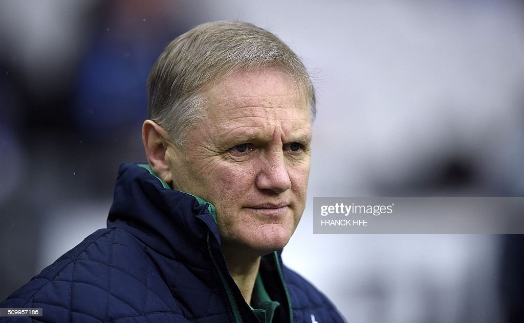 Ireland's head coach Joe Schmidt arrives for the Six Nations international rugby union match between France and Ireland on February 13, 2016 at the Stade de France in Saint-Denis, north of Paris. AFP PHOTO / FRANCK FIFE / AFP / FRANCK FIFE