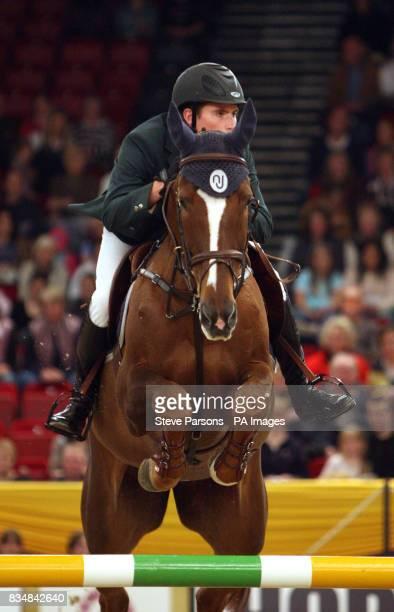 Ireland's Ivor Dalton riding Corcovada in the Sylvia Barnes Memorial Cup