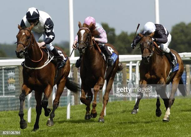 Ireland's Mister Monet ridden by Joe Fanning wins The Solitaire Diamond Rated Stakes at Ascot Races