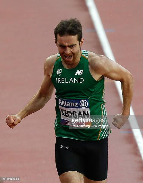 Ireland's Paul Keogan in the Men's 400m T47 Final during day ten of the 2017 World Para Athletics Championships at London Stadium