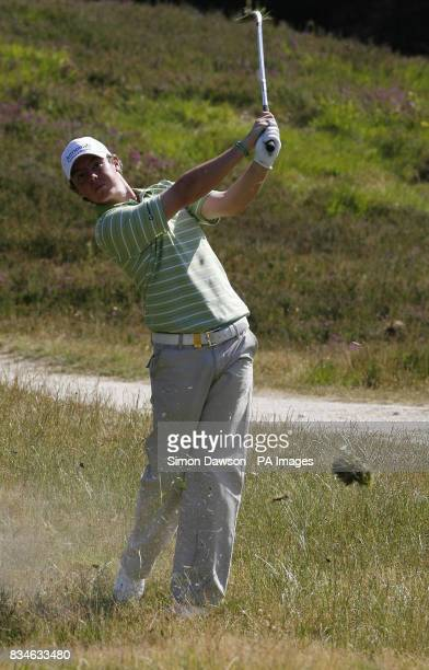 Ireland's Rory McLlroy during the Open Championship International Final Qualifying at Sunningdale Golf Club Berkshire