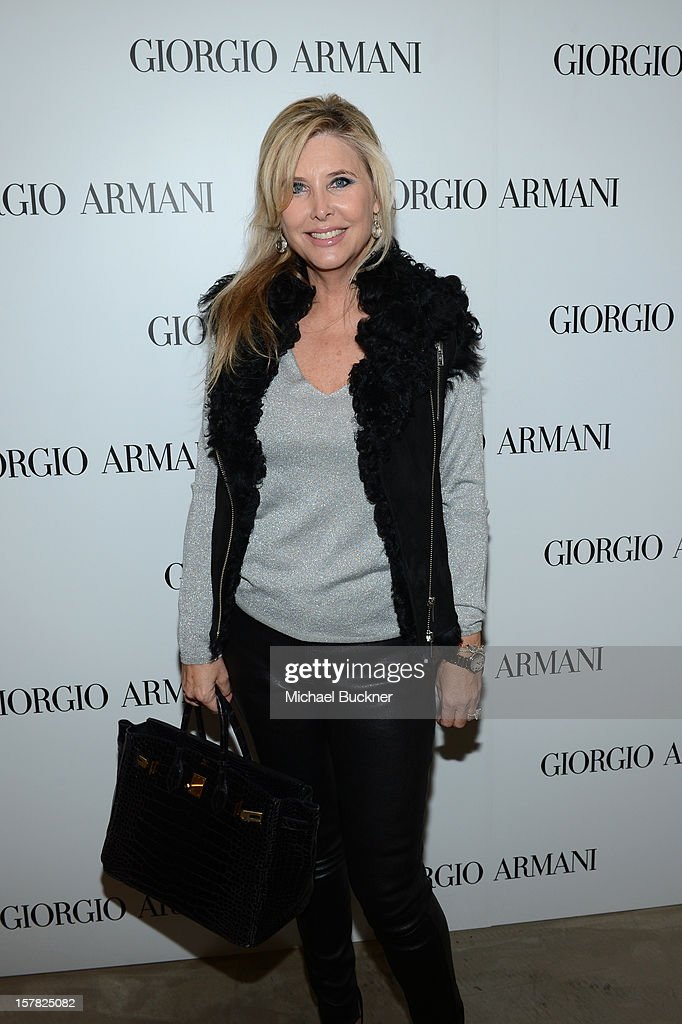 Irena Medavoy attends the Giorgio Armani Beauty Luncheon on December 6, 2012 in Beverly Hills, California.