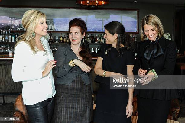 Irena Medavoy Lynn Hirschberg Katherine Ross and Colleen Bell attend Gemfields And W Magazine Celebrate The Launch Of Gemfields' New Brand Ambassador...