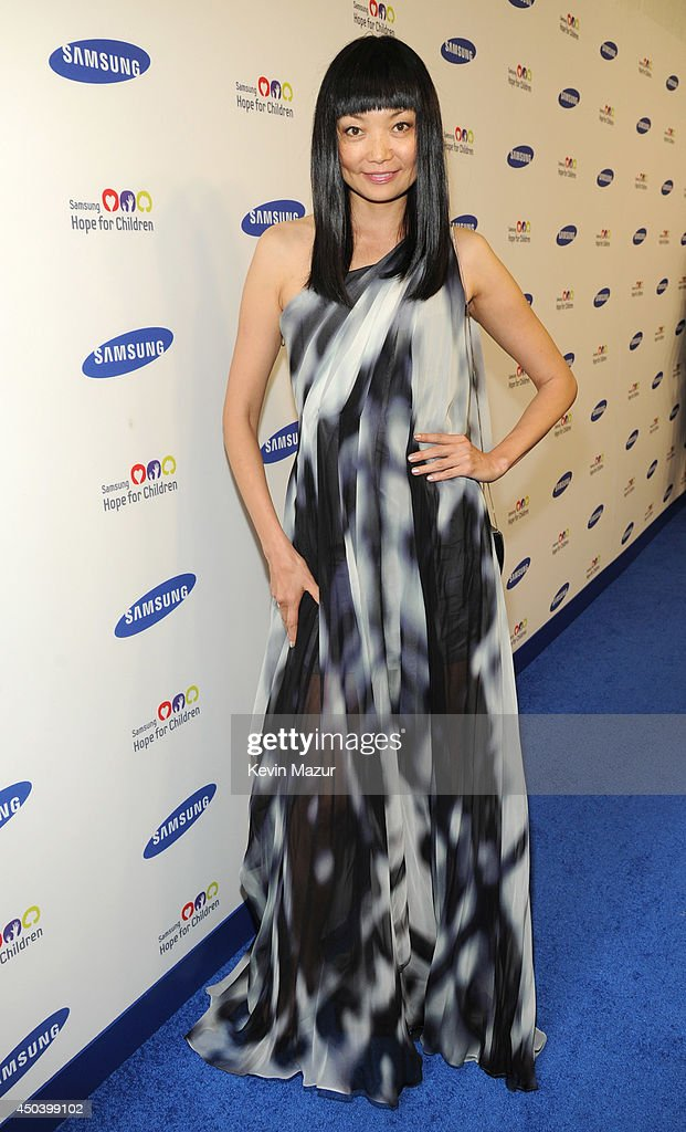 Irena Pantaeva attends the Samsung Hope For Children Gala 2014 at Cipriani Wall Street on June 10, 2014 in New York City.