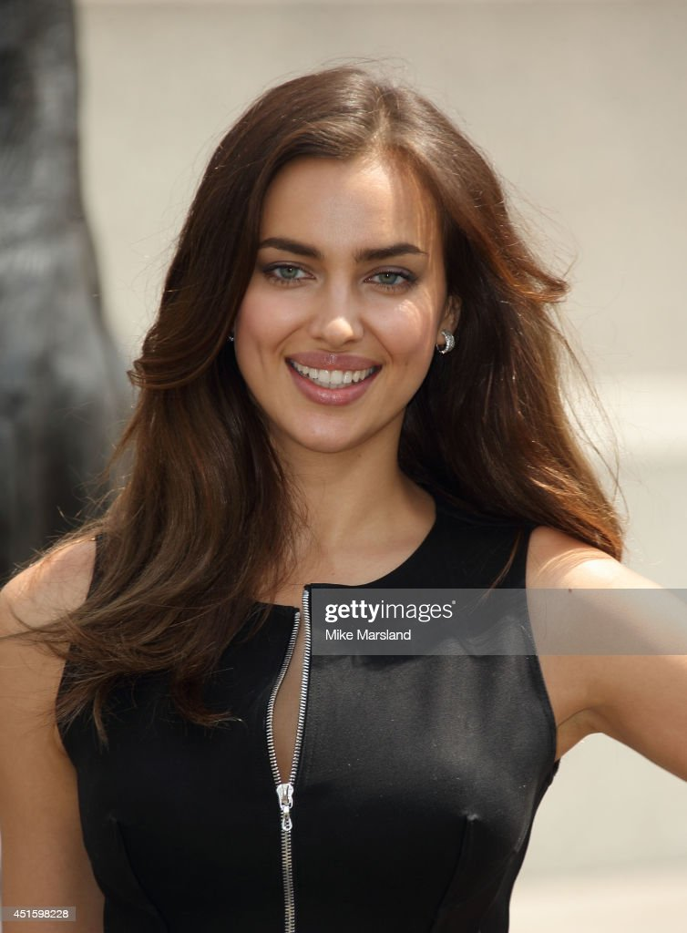 Irena Shayk attends a photocall for 'Hercules' on July 2, 2014 in London, England.