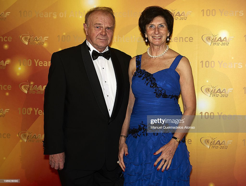 Irena Szewinska of Poland attends the IAAF Centenary Gala at the Museo Nacional d'Art de Catalunya on November 24, 2012 in Barcelona, Spain.