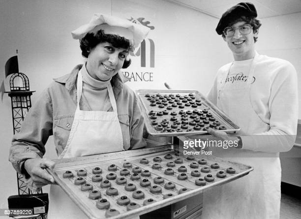 Irene and Michael Szyliowicz make chocolates in their basement for company they own called the French Confection Credit The Denver Post