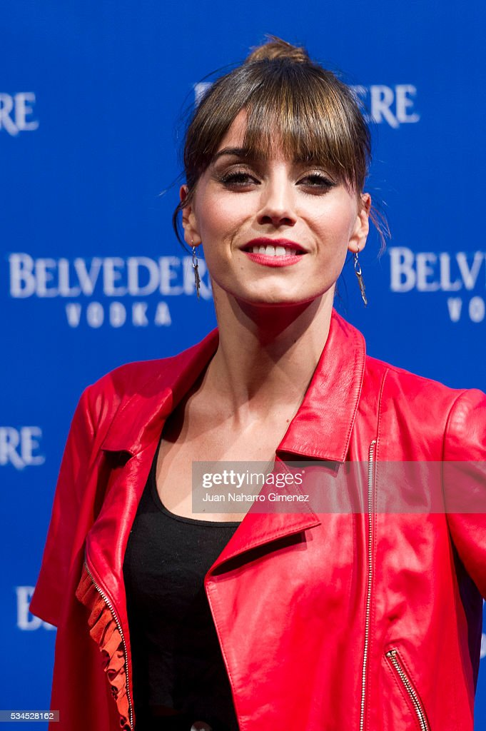 Irene Arcos attends 'Ramones' 40th anniversary party at El Principito on May 26, 2016 in Madrid, Spain.