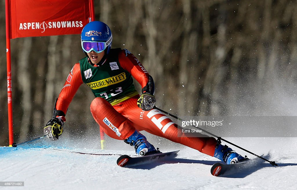 <a gi-track='captionPersonalityLinkClicked' href=/galleries/search?phrase=Irene+Curtoni&family=editorial&specificpeople=5589660 ng-click='$event.stopPropagation()'>Irene Curtoni</a> of Italy competes in the first run of the ladies giants slalom during the 2014 Audi FIS Ski World Cup at the Nature Valley Aspen Winternational at Aspen Mountain on November 29, 2014 in Aspen, Colorado.