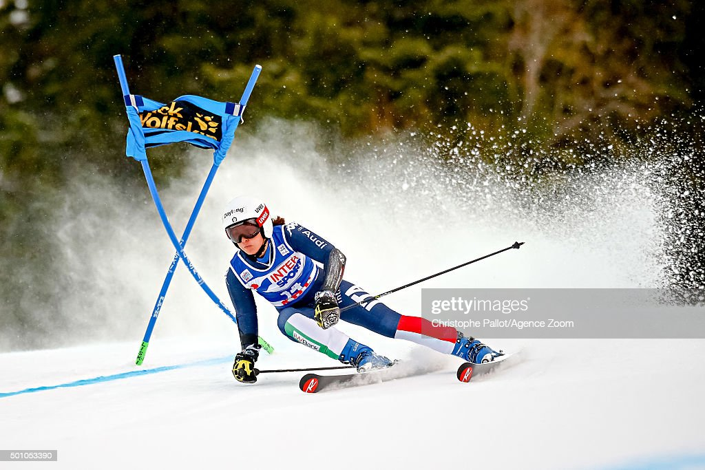 <a gi-track='captionPersonalityLinkClicked' href=/galleries/search?phrase=Irene+Curtoni&family=editorial&specificpeople=5589660 ng-click='$event.stopPropagation()'>Irene Curtoni</a> of Italy during the Audi FIS Alpine Ski World Cup Women's Giant Slalom on December 12, 2015 in Are, Sweden.