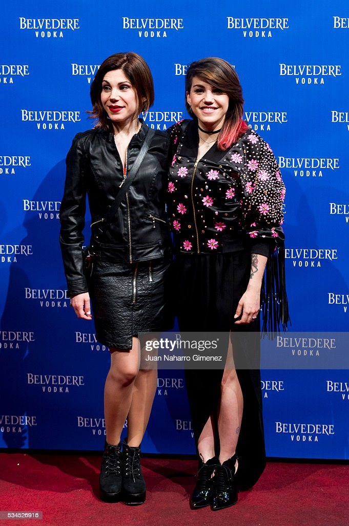 <a gi-track='captionPersonalityLinkClicked' href=/galleries/search?phrase=Irene+Fernandez&family=editorial&specificpeople=2128719 ng-click='$event.stopPropagation()'>Irene Fernandez</a> (L) and Angie Fernandez attend 'Ramones' 40th anniversary party at El Principito on May 26, 2016 in Madrid, Spain.