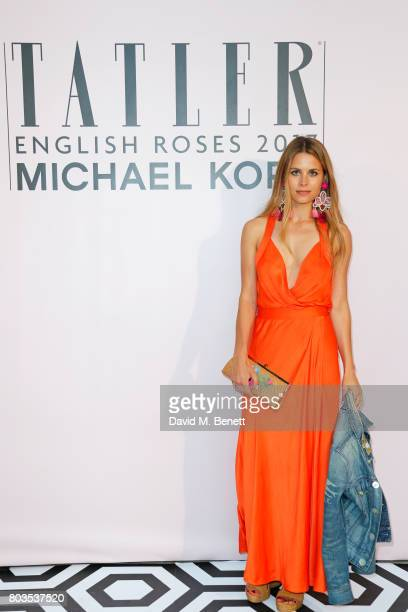 Irene Forte attends Tatler's English Roses 2017 in association with Michael Kors at the Saatchi Gallery on June 29 2017 in London England