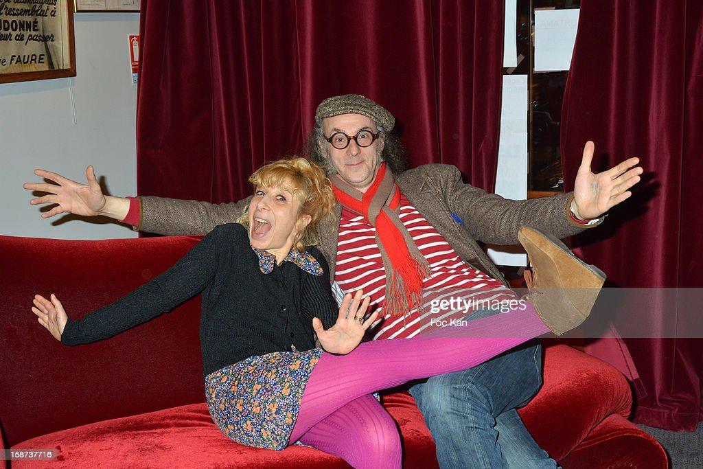 Irene Ismailoff and Laurent Firode attend the 'Par Amour' Paris Premiere at Studio 28 on December 26, 2012 in Paris, France.
