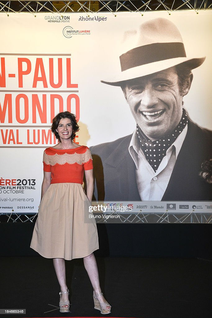 Irene Jacob attends the 5th Lyon Film Festival on October 14, 2013 in Lyon, France.