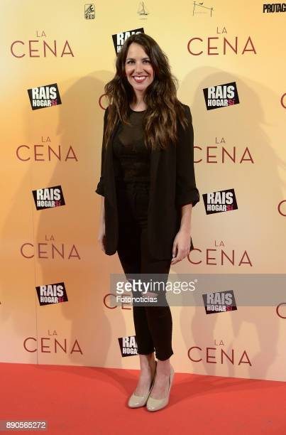 Irene Junquera attend the 'La Cena' premiere at the Capitol cinema on December 11 2017 in Madrid Spain