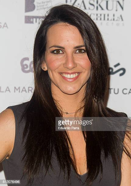 Irene Junquera attends ARCO cocktail party at Ifema on February 24 2016 in Madrid Spain
