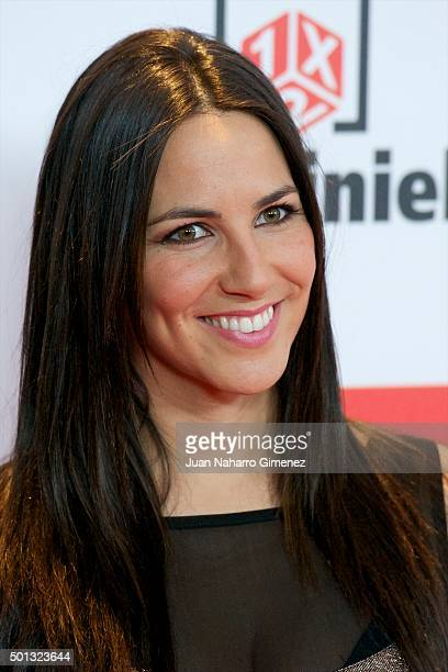 Irene Junquera attends 'As Del Deporte' awards 2015 photocall at Palace Hotel on December 14 2015 in Madrid Spain