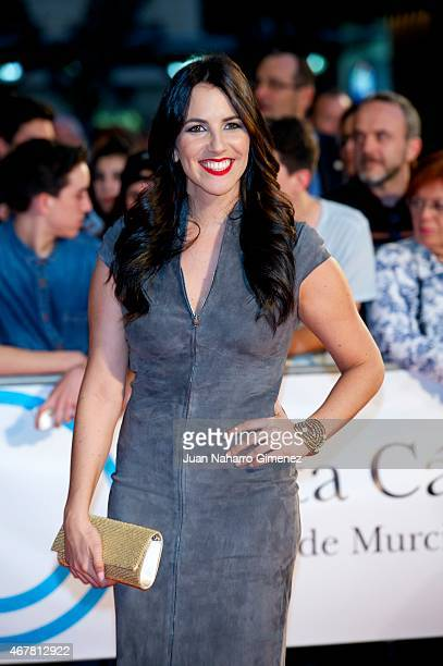 Irene Junquera attends closing ceremony of the FesTVal Murcia 2015 at Julian Romea theater on March 27 2015 in Murcia Spain