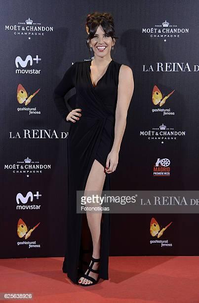 Irene Junquera attends 'La reina de Espana' Madrid premiere at Callao City Lights cinema on November 24 2016 in Madrid Spain