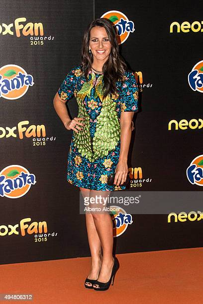Irene Junquera attends NEOX Fan Awards 2015 photocall on October 28 2015 in Madrid Spain