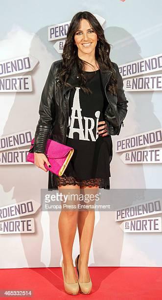 Irene Junquera attends 'Perdiendo El Norte' Madrid premiere on March 5 2015 in Madrid Spain