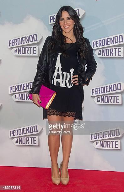 Irene Junquera attends 'Perdiendo el norte' premiere photocall at Capitol cinema on March 5 2015 in Madrid Spain