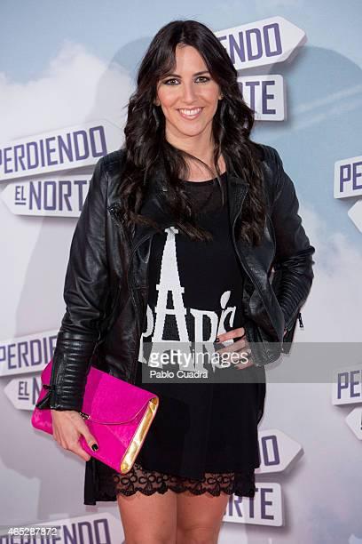 Irene Junquera attends 'Peridendo el Norte' premiere at Capitol Cinema on March 5 2015 in Madrid Spain