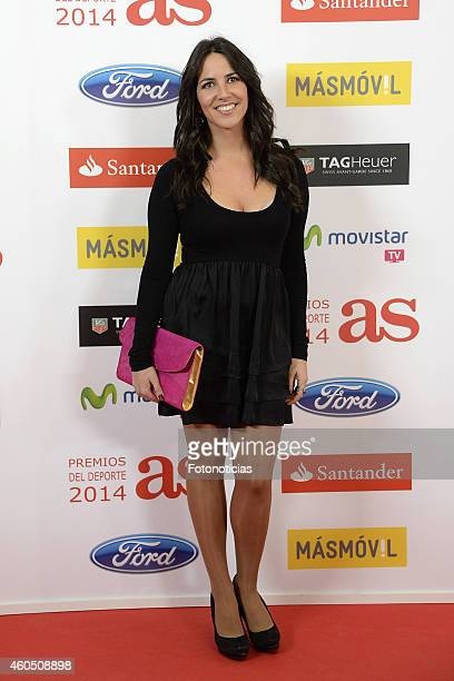 Irene Junquera attends the 2014 AS Sports Awards at The Westin Palace Hotel on December 15 2014 in Madrid Spain
