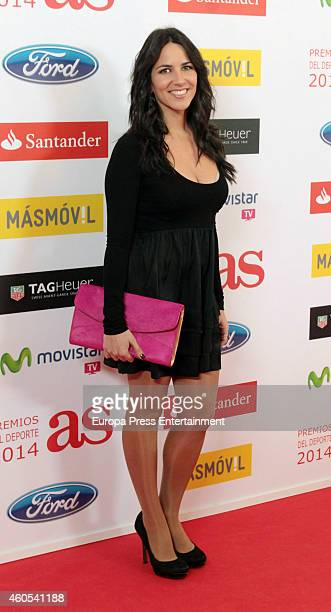 Irene Junquera attends the 2014 AS Sports Awards on December 15 2014 in Madrid Spain