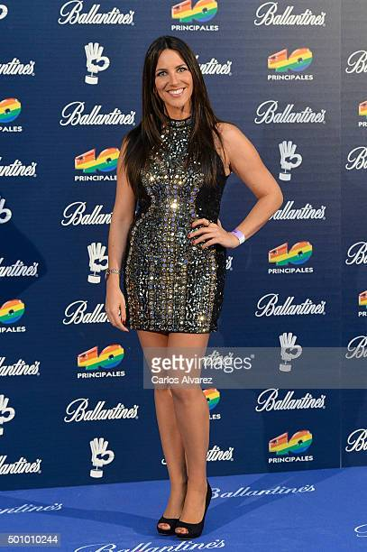 Irene Junquera attends the 40 Principales Awards 2015 photocall at the Barclaycard Center on December 11 2015 in Madrid Spain