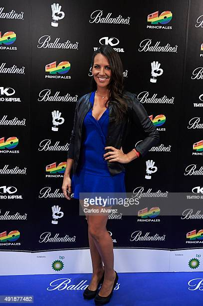 Irene Junquera attends the '40 Principales Awards' Candidates presentation at the Kapital Club on October 8 2015 in Madrid Spain