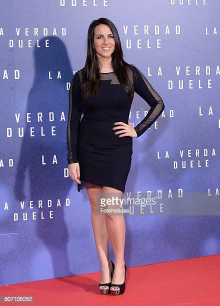Irene Junquera attends the 'Concussion' Premiere at Callao Cinema on January 27 2016 in Madrid Spain