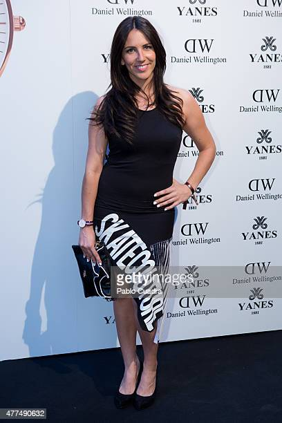 Irene Junquera attends the 'Daniel Wellington' presentation party at the Yanes Jewelry on June 17 2015 in Madrid Spain