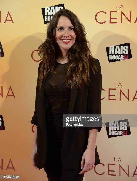 Irene Junquera attends the 'La Cena' premiere at the Capitol cinema on December 11 2017 in Madrid Spain