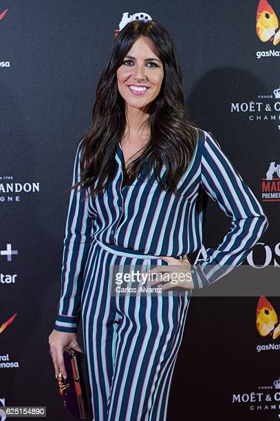 Irene Junquera attends the Madrid premiere of the Paramount Pictures title 'Allied' at Callao City Lights on November 22 2016 in Madrid Spain