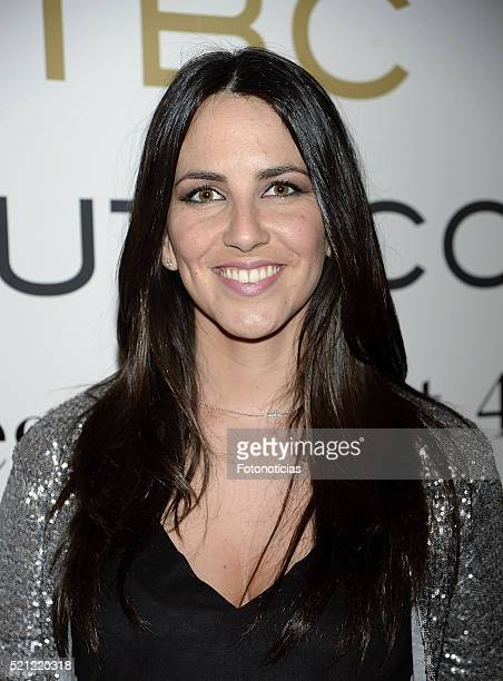 Irene Junquera attends the 'The Beauty Concept' opening store party on April 14 2016 in Madrid Spain