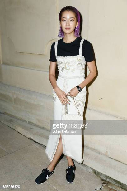 Irene Kim attends the Chanel 'Code Coco' Watch Launch Party as part of the Paris Fashion Week Womenswear Spring/Summer 2018 on October 3 2017 in...