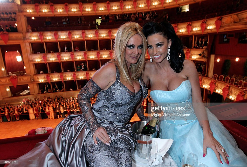 Katie Price Guest Of Honour At The Vienna Opera Ball
