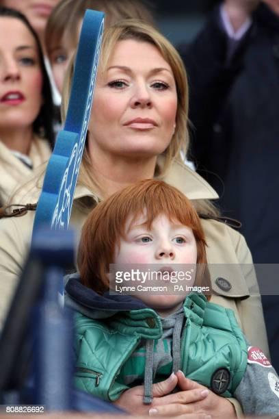 Irene McCloy and Gallagher Lennon partner and son of Celtic manager Neil Lennon